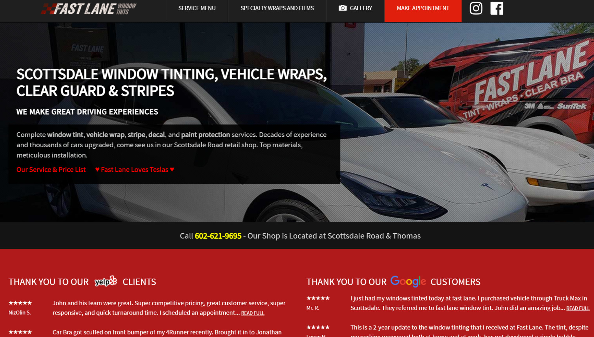Fast Land Window Tinting in Scottsdale