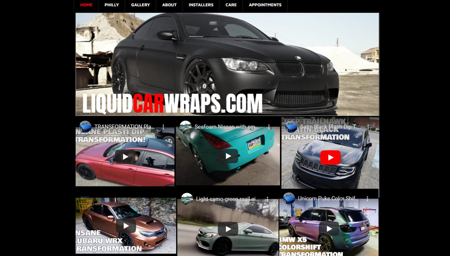 Liquid Car Wraps in Glendale